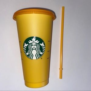STARBUCKS Color-Changing Reusable Cold Cup